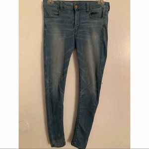American Eagle Outfitters Jeans - American Eagle Super Super Stretch Jegging Size10R